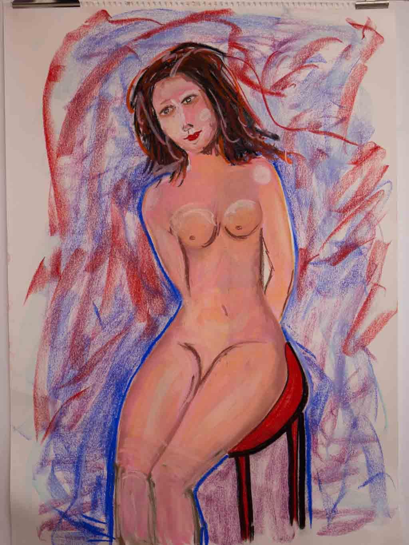 La femme sédentaire © Reimund Konrad 2021